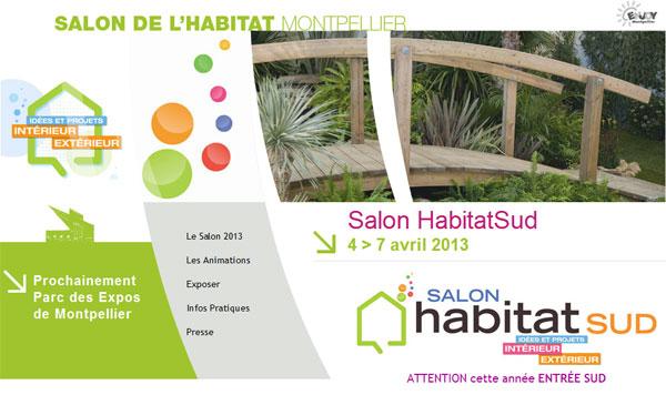 Salon de l 39 habitat 2013 montpellier toulouse lyon et paris - Salon de l habitat montpellier ...